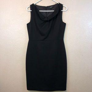Tahari Black Sheath Dress